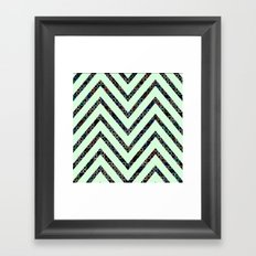 chevron pattern #2 Framed Art Print