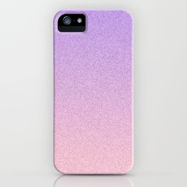Lavender and Blush Static Ombre iPhone Case