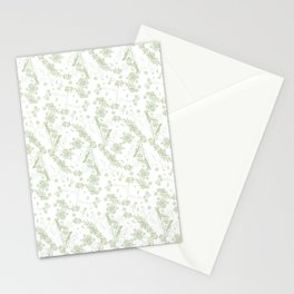 Road Trip Green Stationery Cards