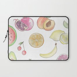 Watercolor Fruit Laptop Sleeve