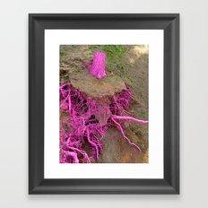 pinkiss dead Framed Art Print