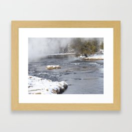 Yellowstone River Framed Art Print