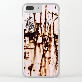 Driving That Train Clear iPhone Case
