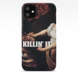 Judith is Killin' It iPhone Case