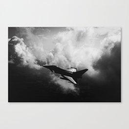 Typhoon Canvas Print