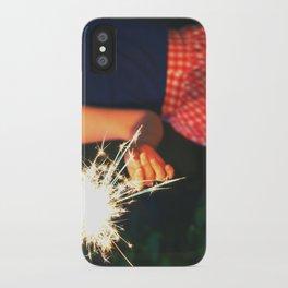 summer sparkler iPhone Case