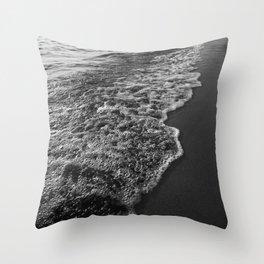 Ocean Beach Sunset Throw Pillow