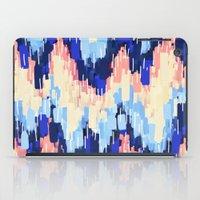 rush iPad Cases featuring Rush (Blue) by Jacqueline Maldonado