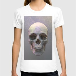 Skull Colorful Wires 1 T-shirt