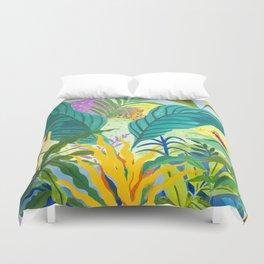Paradise Jungle Duvet Cover
