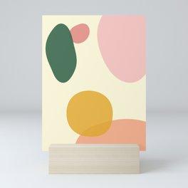 Abstract Shapes Mini Art Print