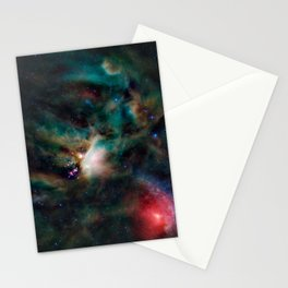 Rho Ophiuchi cloud complex Stationery Cards