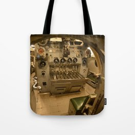 The USS Batfish - In the Maneuvering Room Tote Bag