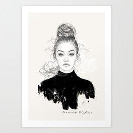 Gi Art Print
