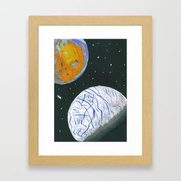Europa and Io Framed Art Print