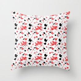 Cute Love Design Throw Pillow