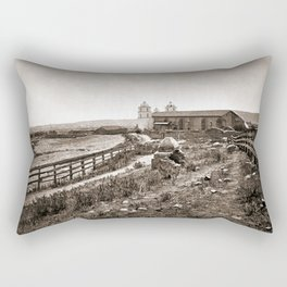 Mission Santa Barbara Rectangular Pillow