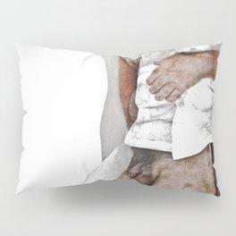 HOLDING MYSELF UP Pillow Sham