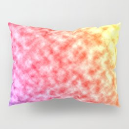 Rainbow and Clouds Pillow Sham