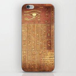 Ancient Script iPhone Skin