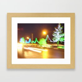 City Streets Framed Art Print