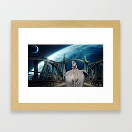 Planet of the Apes by GEN Z Framed Art Print