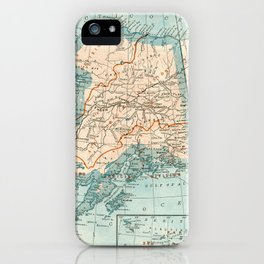 Vintage Alaska iPhone Case