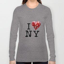 Banksy * I Love New York Long Sleeve T-shirt