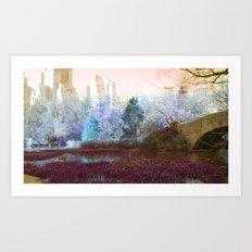 dream park Art Print