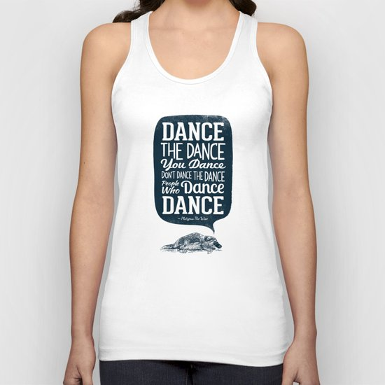 Platypus The Wise Unisex Tank Top