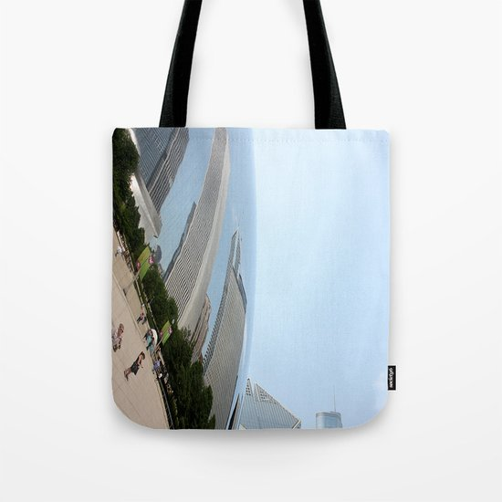 Distort Tote Bag