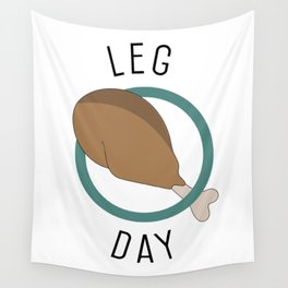 Leg Day Wall Tapestry