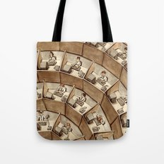 The Rings of Cubicle Hell Tote Bag