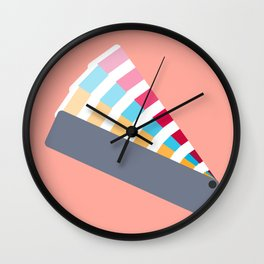 #28 Pantone Swatches Wall Clock