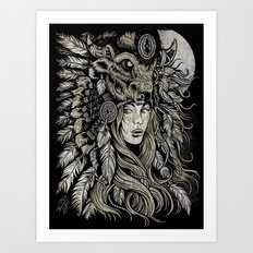 Spirit of the Buffalo Art Print