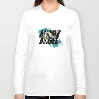 orphan black Long Sleeve T-shirts featuring Orphan Black - Angry Angel by Child of the Tardis