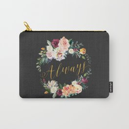 Always - Gold/Charcoal Carry-All Pouch