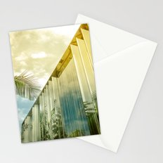Beverly Hills - Palm Reflections II Stationery Cards