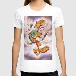 Dragon in the Cloud Type L: Minhwa-Korean traditional/folk art T-shirt