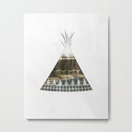 Tipi Number 1 Metal Print