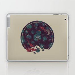 Amongst the Lilypads Laptop & iPad Skin