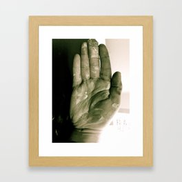 Weathered  Framed Art Print
