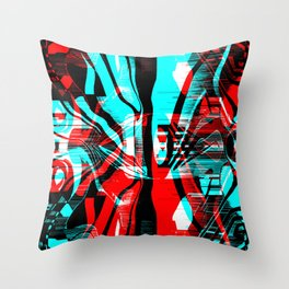 Dispersion Throw Pillow