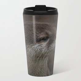 Portrait Of A Young Otter Travel Mug