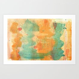 Curious River Art Print