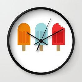 Ice Lollies Wall Clock