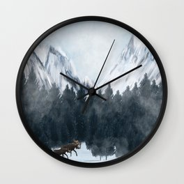 By My Side Wall Clock