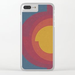Earth's Core Clear iPhone Case