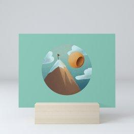 World in a Circle : Triumph Mini Art Print
