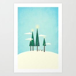 It's Always Christmas  Art Print